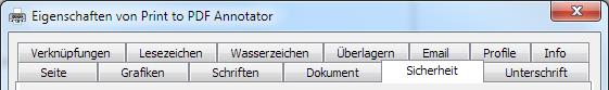 Drucken in PDF Annotator mit vielen Sonderfunktionen