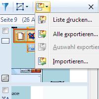 Anmerkungen ex-/importieren