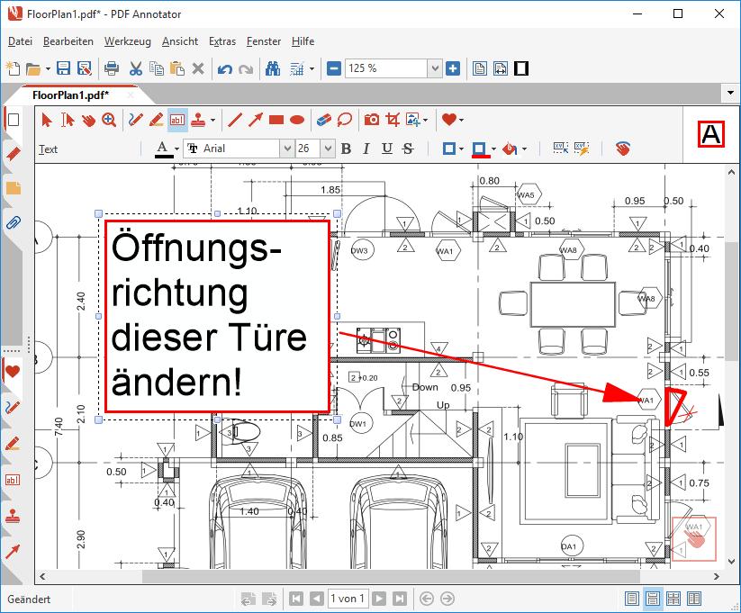 Anmerkungen zum PDF hinzufügen