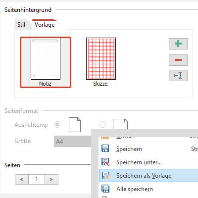 PDF Vorlagen