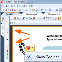 Nouveau concept de barre d'outils