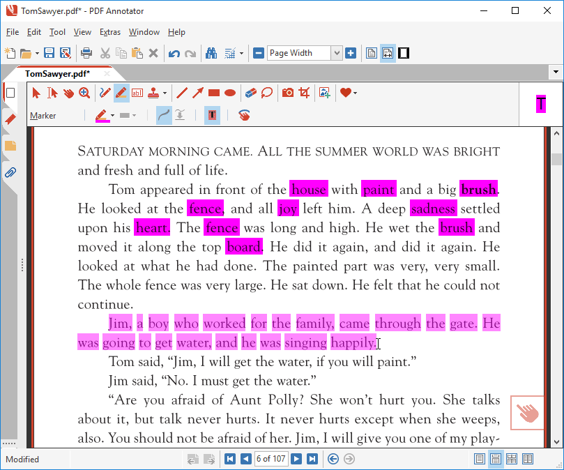 Selecting lines of text with Auto-Snap