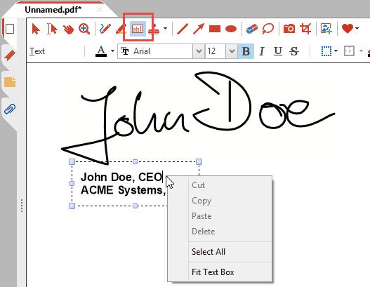 copy and paste signature  Creating Signature Stamps - PDF Annotator