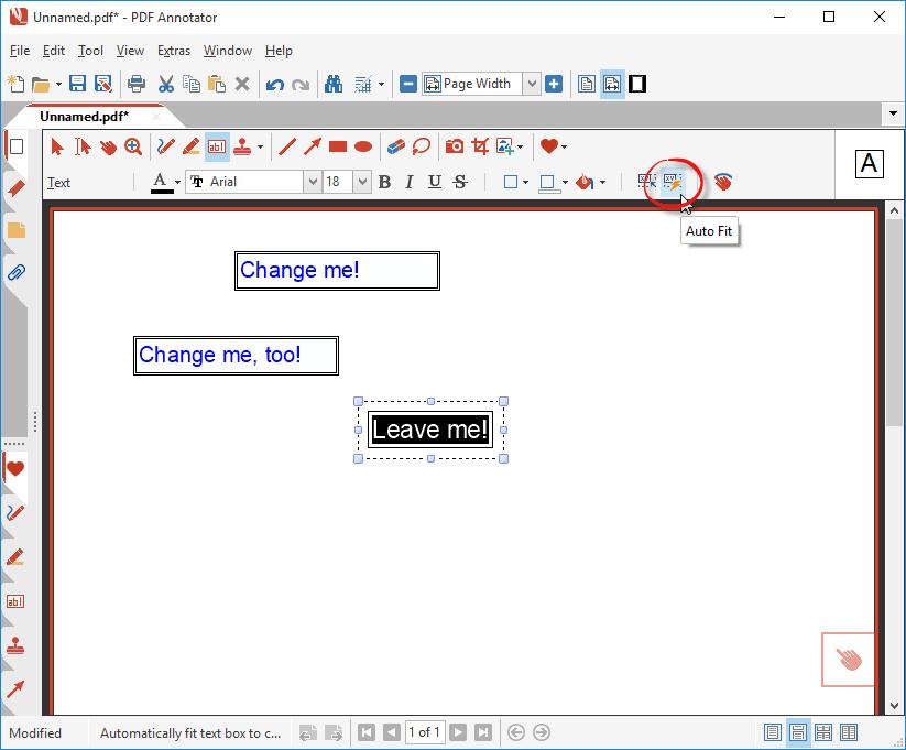 Auto-Fit Text Boxes