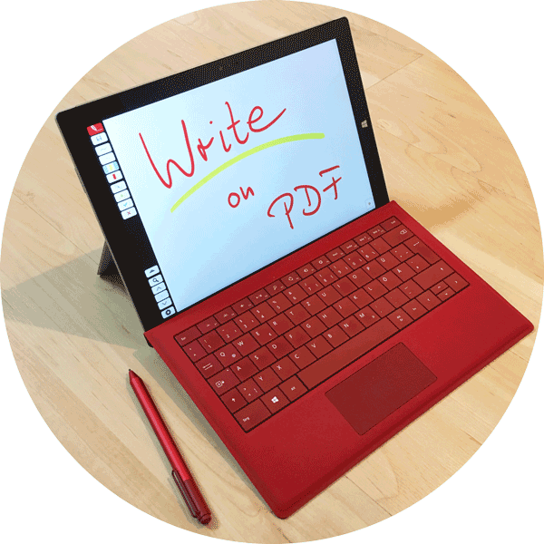 Write on PDF - On Your Microsoft Surface™