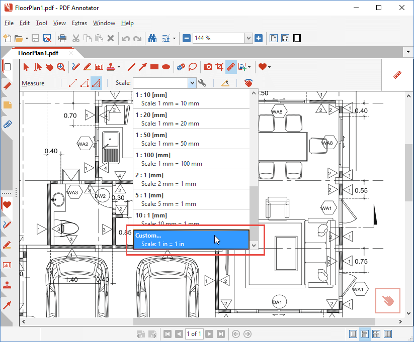 How To Measure Areas In Technical