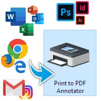Imprimer vers PDF Annotator