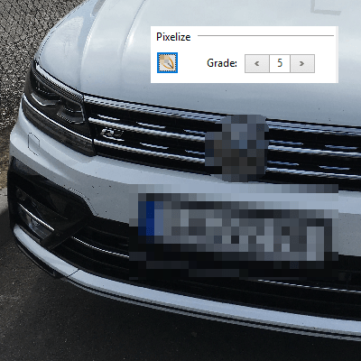 Pixelize Images: Use our embedded image editor to obfuscate areas within images. Pixelize faces, license plates, and sensible data in images inserted into PDF documents.