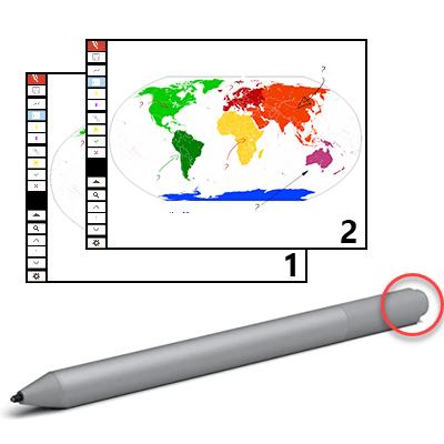Use your Pen as a Clicker