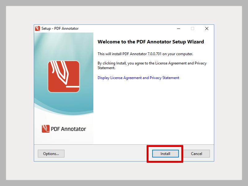Cliquez sur <b>Installer</b>.